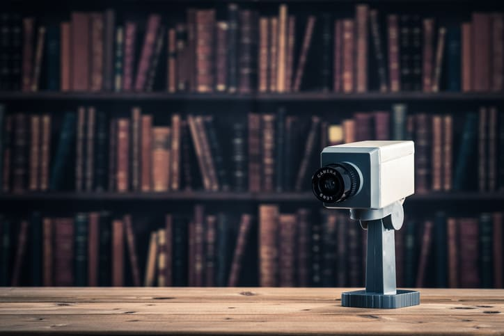 protecting libraries from theft
